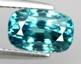 5.55 CTS FABULOUSLY NATURAL BLUE ZIRCON TOP QUALITY