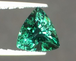 1.82 Cts Untreated Indicolite Tourmaline Awesome Color ~ Afghanistan