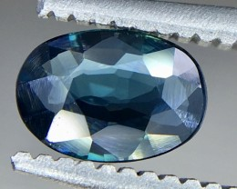 0.48 Crt GIL Certified Sapphire Faceted Gemstone (R 161)