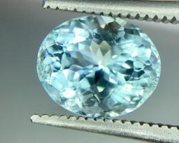 2.0 Crt Natural Aquamarine Faceted Gemstone (R 161)