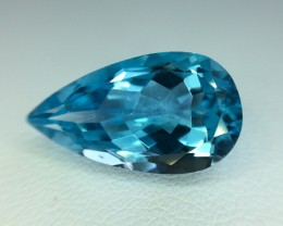 7.80 Crt Natural Topaz Faceted Gemstone (972)