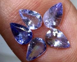 1.65CTS TANZANITE VIOLET BLUE PARCEL PG-2477