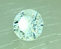 0.46 Crt Certified Natural White Diamond Faceted Gemstone