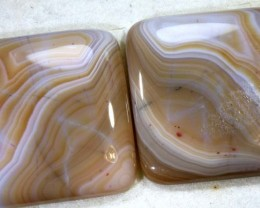 60.2CTS LACE AGATE PAIR ADG-1631