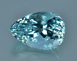 4.61 Cts Sparkling Lustrous Natural Beautiful Aquamarine