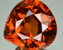 2.97 Cts Natural Mandrain Orange Spessartite Garnet Heart Mix Pear Namibia