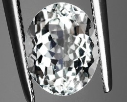 2.44ct Gorgeous Goshenite/Aquamarine Glittering gem! No reserve!