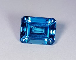 "8.04 ct "" Perfect Emerald"" IGI Certified "" Super Swiss Natur"