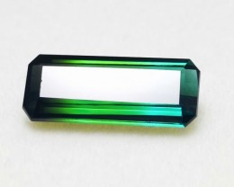 4.55 cts Awesome Bi Color Good in Size IF Tourmaline Gemstone
