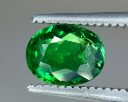 0.88 Crt GIL Certified Natural Tsavorite Faceted Gemstone (R 162)