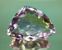 11.69 Cts Awesome Bolivian Ametrine Stunning Luster & Cut Gemstone Kj99