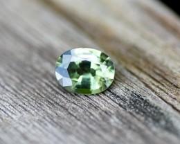 0.93cts Sapphire - Vibrant Green Australian