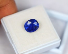 4.01Ct Natural Blue Sapphire Oval Cut Lot V1092