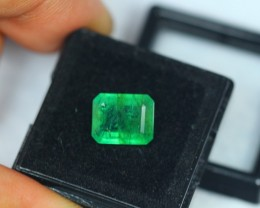 3.31Ct Natural Zambia Green Emerald Lot V1103