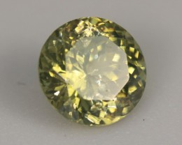 1.15 ct YELLOW ZIRCON - UNTREATED!  CALIBRATED!
