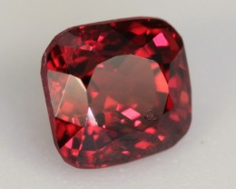 0.98 CT RED SPINEL - SUPER BRIGHT RED!