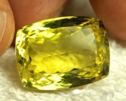 22.05 Carat Vibrant VVS African Lemon Quartz - Gorgeous