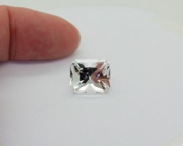 8.86Ct TOPAZ ( Killiercrankie Diamond ) Specialty Cut stone