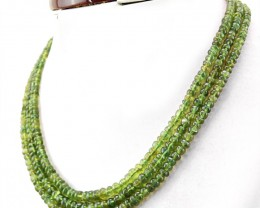 Genuine 290.00 Cts Green Peridot Necklace
