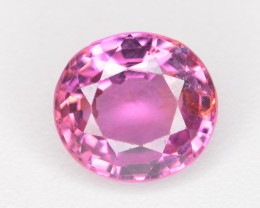 1.10 Ct Transparent and Fabulous ColorPink Spinel