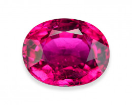 6.62 Cts Electrifying Appealing Pink Rubelite