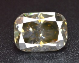 next bid and win~1.05 Ct Gorgeous Color and luster Light Yellow Diamond