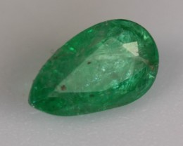 0.65 CT ZAMBIAN EMERALD - GREAT PRICE!  UNTREATED!