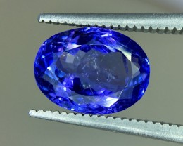 2.75 Crt Tanzanite Top Color Faceted Gemstone (R 163)