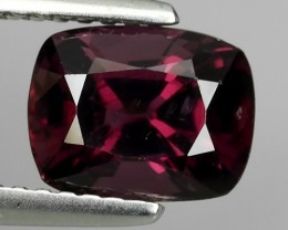 1.95 Cts GENUINE NATURAL ULTRA RARE LUSTER INTENSE PINK  SPINEL NR!!!