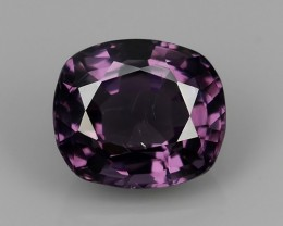 2.15 Cts GENUINE NATURAL ULTRA RARE LUSTER INTENSE PURPLE  SPINEL NR!!!