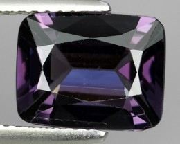 2.85 CTS ATTRACTIVE NATURAL PURPLE -SPINEL CUSHION NR!!!