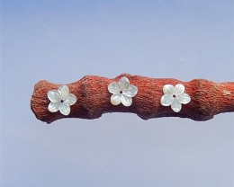 5.5ct Fashion Craved Flower M.O.P Intarsia Pendant(18040901)