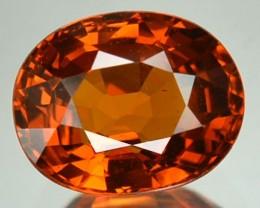 2.30 Cts Natural Mandrain Orange Spessartite Garnet Oval Cut Namibia Gem