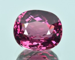 6.13 Cts Attractive Beautiful Color Natural Purple Pink Rhodolite Garnet