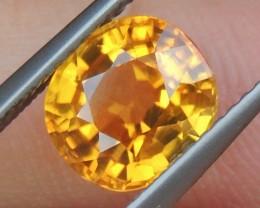 3.12cts Orange Zircon,  Unheated,