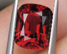 3.20cts Mogok Red Spinel,  100% Untreated,