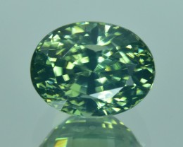 4.40 Cts Wonderful Amazing Natural Sri Lankan Green Zircon