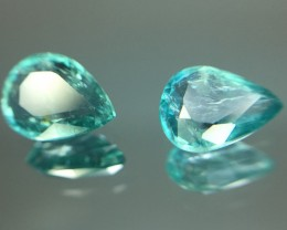 Rare Clarity 1.02 Cts Grandidierite World Class Rare Gem ~ Madagascar Kj00