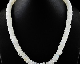 Genuine 515.00 Cts Moonstone Beads Necklace