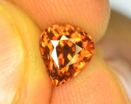 1.85 ct Imperial Zircon Untreated Cambodia