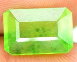 No Reserve -  4.00 cts emerald Cut Bi Solar Hydro Grosolar Garnet Gemstone