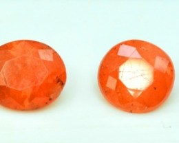 3.60 Cts oval shape rare Natural Triplite  Gemstones Parcel 4 pcs