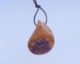 41.5ct Natural Teardrop Amethyst Pendant(18041017)