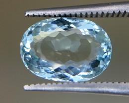 3.0 Crt Aquamarine Faceted Gemstone