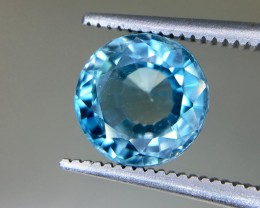 3.30 Crt  Zircon Faceted Gemstone