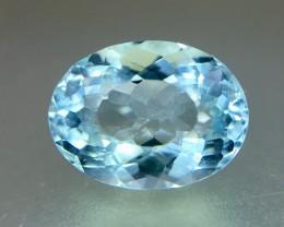 3.35 Crt Aquamarine Faceted Gemstone