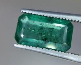 2.55 Crt Emerald Faceted Gemstone