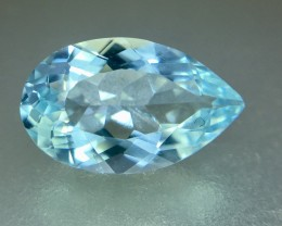 2.25 Crt Aquamarine Faceted Gemstone