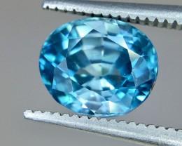 3.65 Crt Zircon Faceted Gemstone