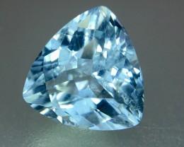 2.35 Crt Aquamarine Faceted Gemstone